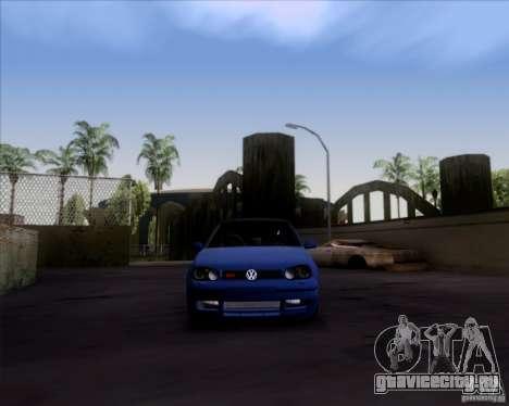 Volkswagen Golf GTi 2003 для GTA San Andreas вид сзади слева