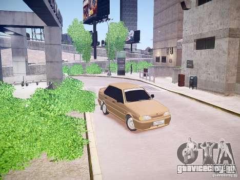 ВАЗ 2115 для GTA 4 вид слева