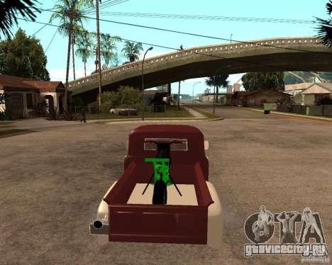 ЗИЛ 130 Fiery Tempe Final для GTA San Andreas вид сзади слева