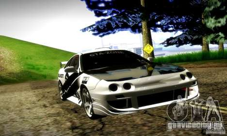Acura Integra Type R для GTA San Andreas вид сверху