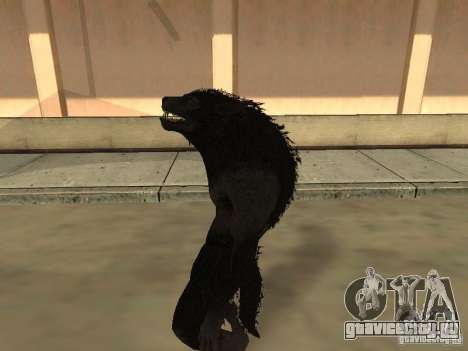 Werewolf from The Elder Scrolls 5 для GTA San Andreas четвёртый скриншот