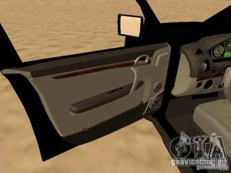 Land Rover Range Rover Sport для GTA San Andreas вид сзади
