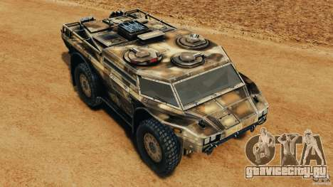 Armored Security Vehicle для GTA 4 салон