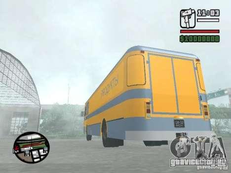 ЛиАЗ 677м грузовой для GTA San Andreas вид справа