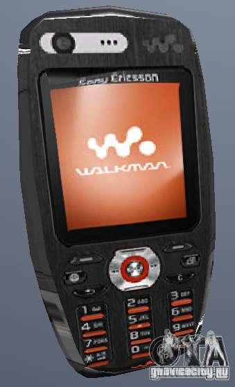 Sony Ericsson W880i для GTA San Andreas