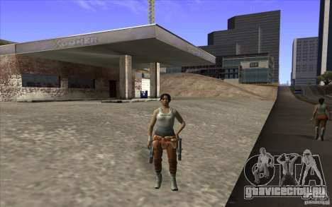 Chell from Portal 2 для GTA San Andreas