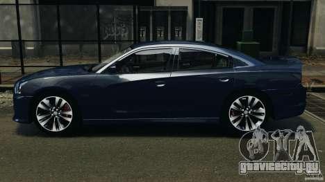 Dodge Charger SRT8 2012 v2.0 для GTA 4 вид слева