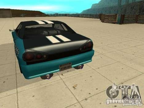 Elegy Forsage для GTA San Andreas вид справа