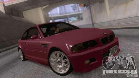 BMW M3 E48 для GTA San Andreas