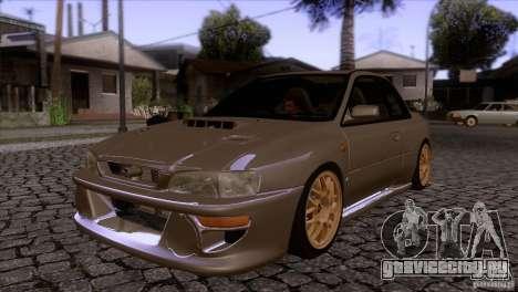 Subaru Impreza 22 для GTA San Andreas