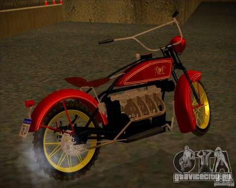 1923 ACE 1200cc для GTA San Andreas вид сзади слева