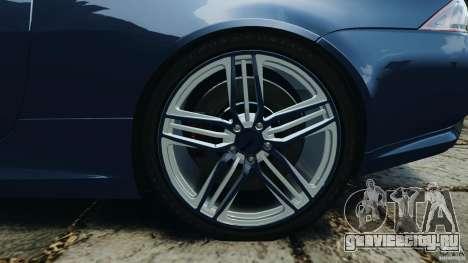 Jaguar XKR-S Trinity Edition 2012 v1.1 для GTA 4 вид сверху