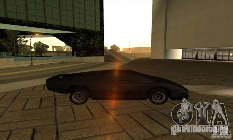 Dodge M4S Turbo Interceptor Wraith 1984 для GTA San Andreas вид слева