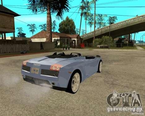 Lamborghini Concept-S для GTA San Andreas вид сзади слева