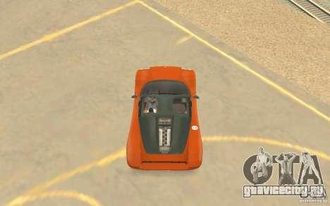 Автомобиль Veloche для GTA San Andreas вид сбоку