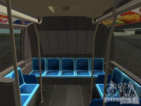 GMC RTS MTA New York City Bus для GTA San Andreas вид сверху