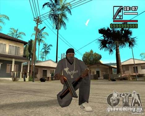 Millenias Weapon Pack для GTA San Andreas восьмой скриншот