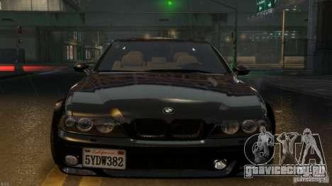 BMW M5 E39 BBC v1.0 для GTA 4 вид сзади слева