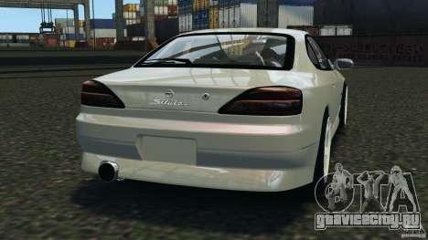 Nissan Silvia S15 Drift для GTA 4 вид сзади слева