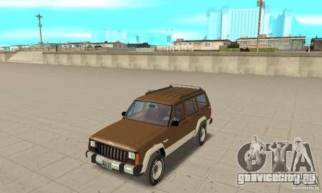 Jeep Grand Cherokee 1986 для GTA San Andreas