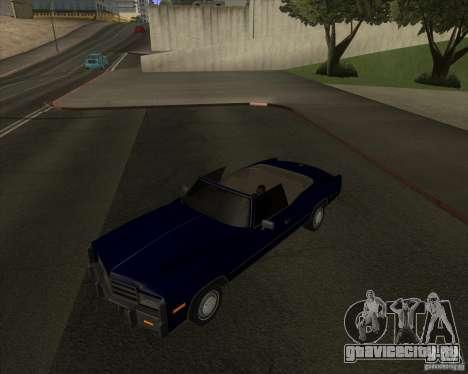 HD Esperanto для GTA San Andreas вид сзади слева
