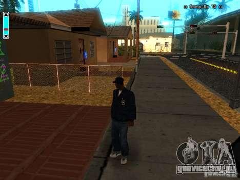 Новый интерфейс для SAMP для GTA San Andreas второй скриншот