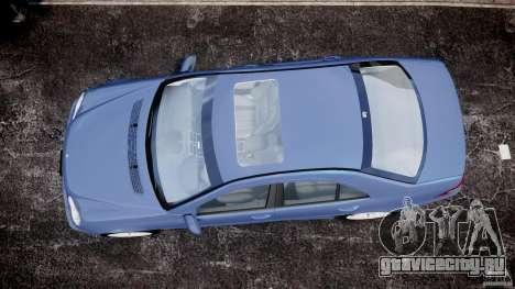 Mercedes-Benz C32 AMG 2004 для GTA 4 вид справа