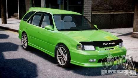 Toyota Sprinter Carib BZ-Touring 1999 [Beta] для GTA 4 вид сверху