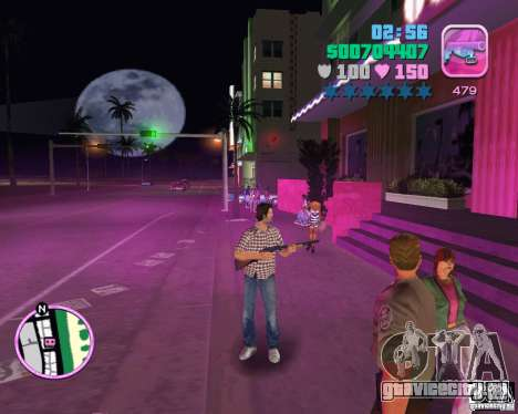 Клетчатая рубашка и джинсы для GTA Vice City третий скриншот