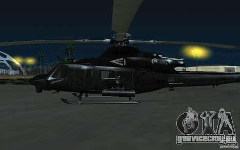 UH-1Y Venom для GTA San Andreas вид справа