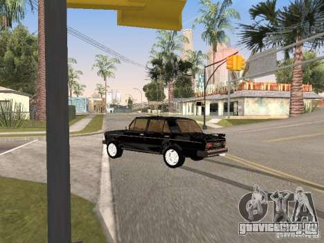 ВАЗ 2106 для GTA San Andreas вид сверху