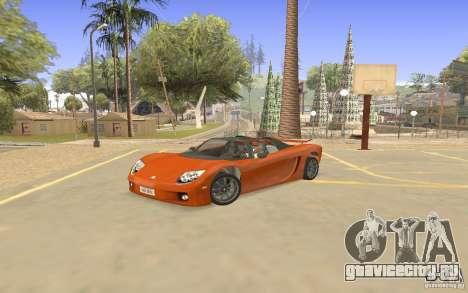 Автомобиль Veloche для GTA San Andreas