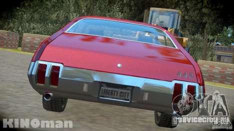 Oldsmobile 442 для GTA 4 вид слева