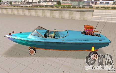 Hot-Boat-Rot для GTA San Andreas вид слева