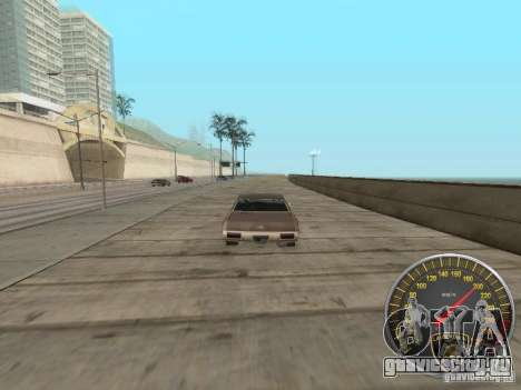 Спидометр Lamborghini для GTA San Andreas четвёртый скриншот