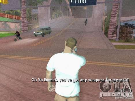 Nokia N8 для GTA San Andreas третий скриншот