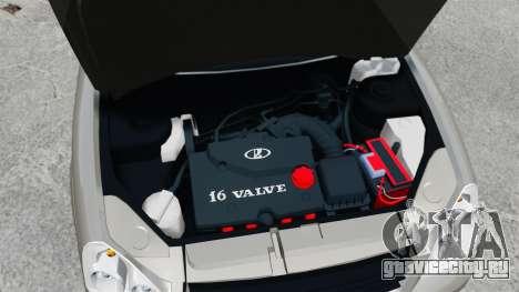 ВАЗ-2172 FBI для GTA 4 вид изнутри