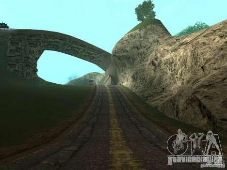 Новые дороги в Вайнвуде для GTA San Andreas