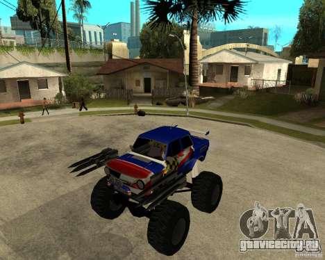 ЗАЗ МОНСТЕР для GTA San Andreas