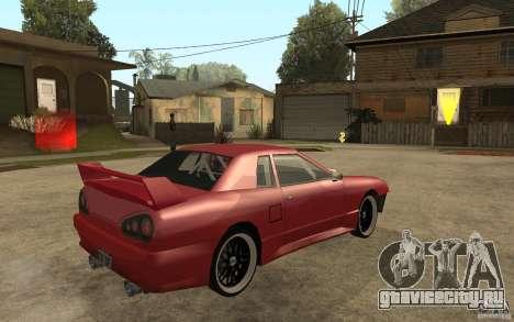 Drift Elegy для GTA San Andreas вид справа