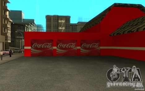 Coca Cola Market для GTA San Andreas третий скриншот