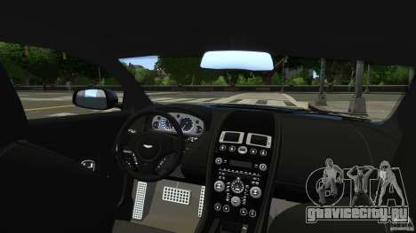 Aston Martin DBS v1.0 для GTA 4 вид сбоку