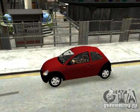 Ford Ka 1999 для GTA 4 вид слева