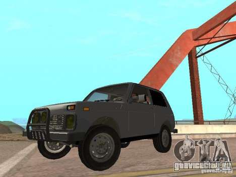 ВАЗ 21214 Нива для GTA San Andreas вид сзади слева