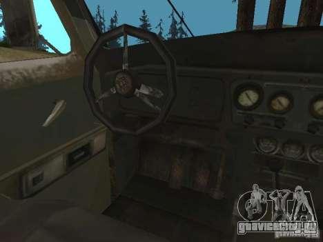УАЗ-31519 из COD MW2 для GTA San Andreas вид сзади