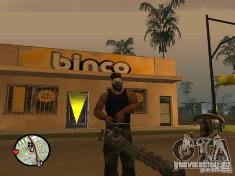 Миниган М134 из CoD:Mw2 для GTA San Andreas второй скриншот