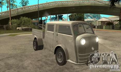 Tempo Matador 1952 Towtruck version 1.0 для GTA San Andreas вид сзади