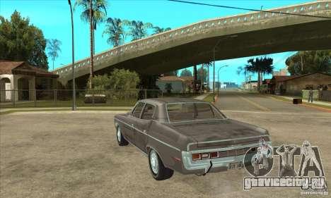 AMC Rambler Matador 1971 для GTA San Andreas вид сзади слева