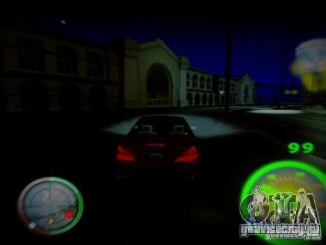Спидометр by CentR для GTA San Andreas второй скриншот
