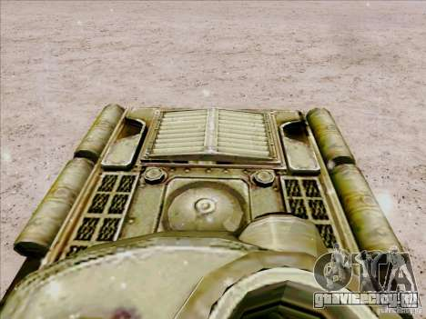 Т-34 для GTA San Andreas вид сзади